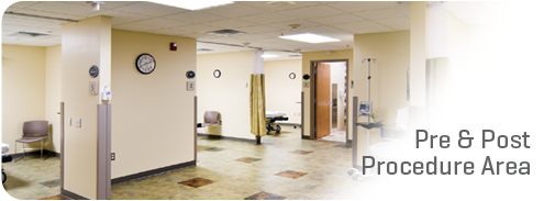 Pre and Post Procedure Area
