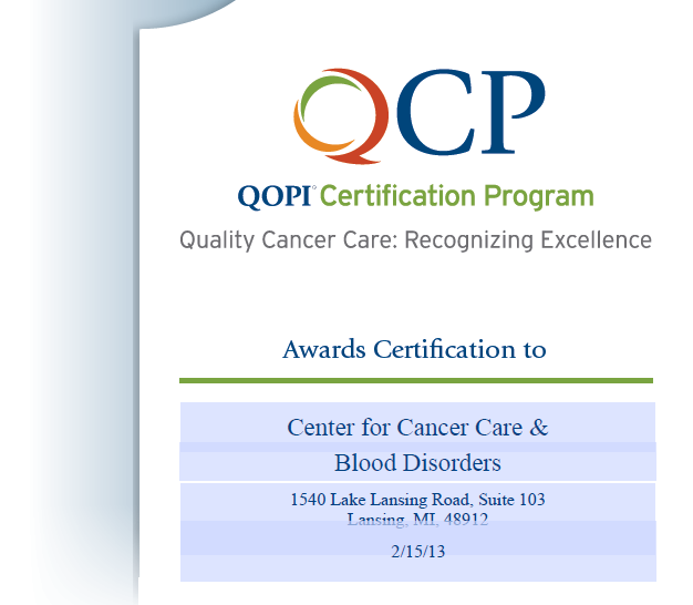 QOPI certification program