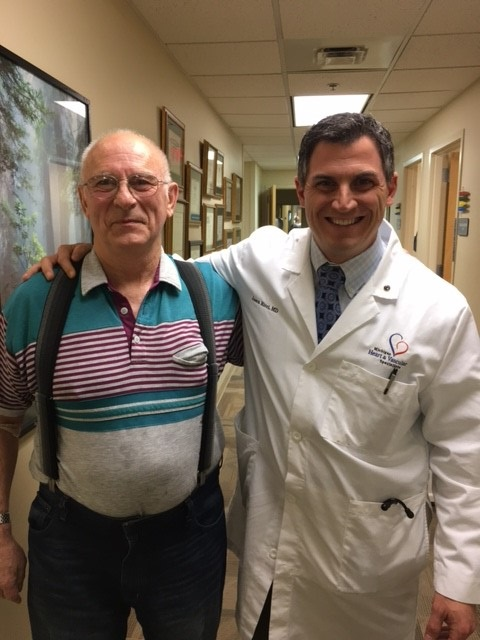 Ronald Lynch and Dr. Ricci