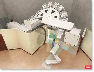 proton therapy model