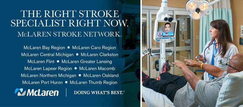 McLaren Stroke Network banner