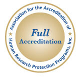 AAHRPP Full Accreditation