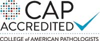 CAP accredited logo