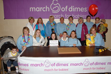 march of dimes volunteers