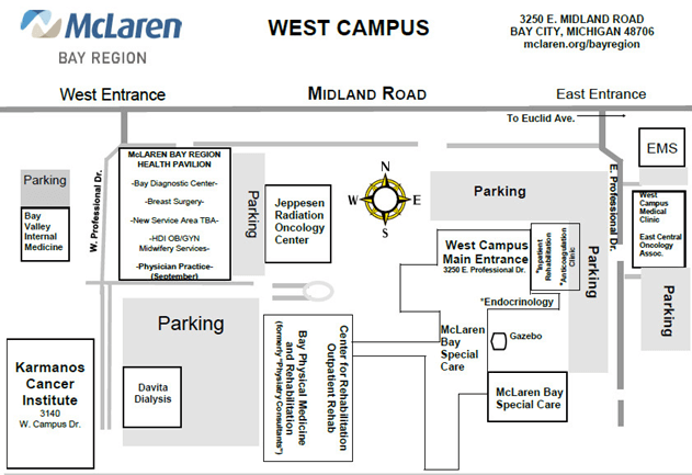 west campus parking