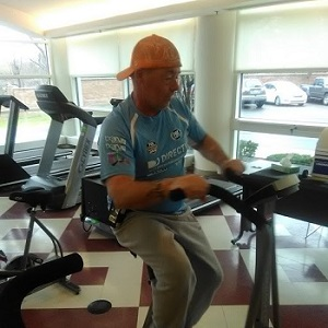 Tony in McLaren Macomb's cardiac rehab