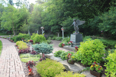 gardens at Hiland Cottage