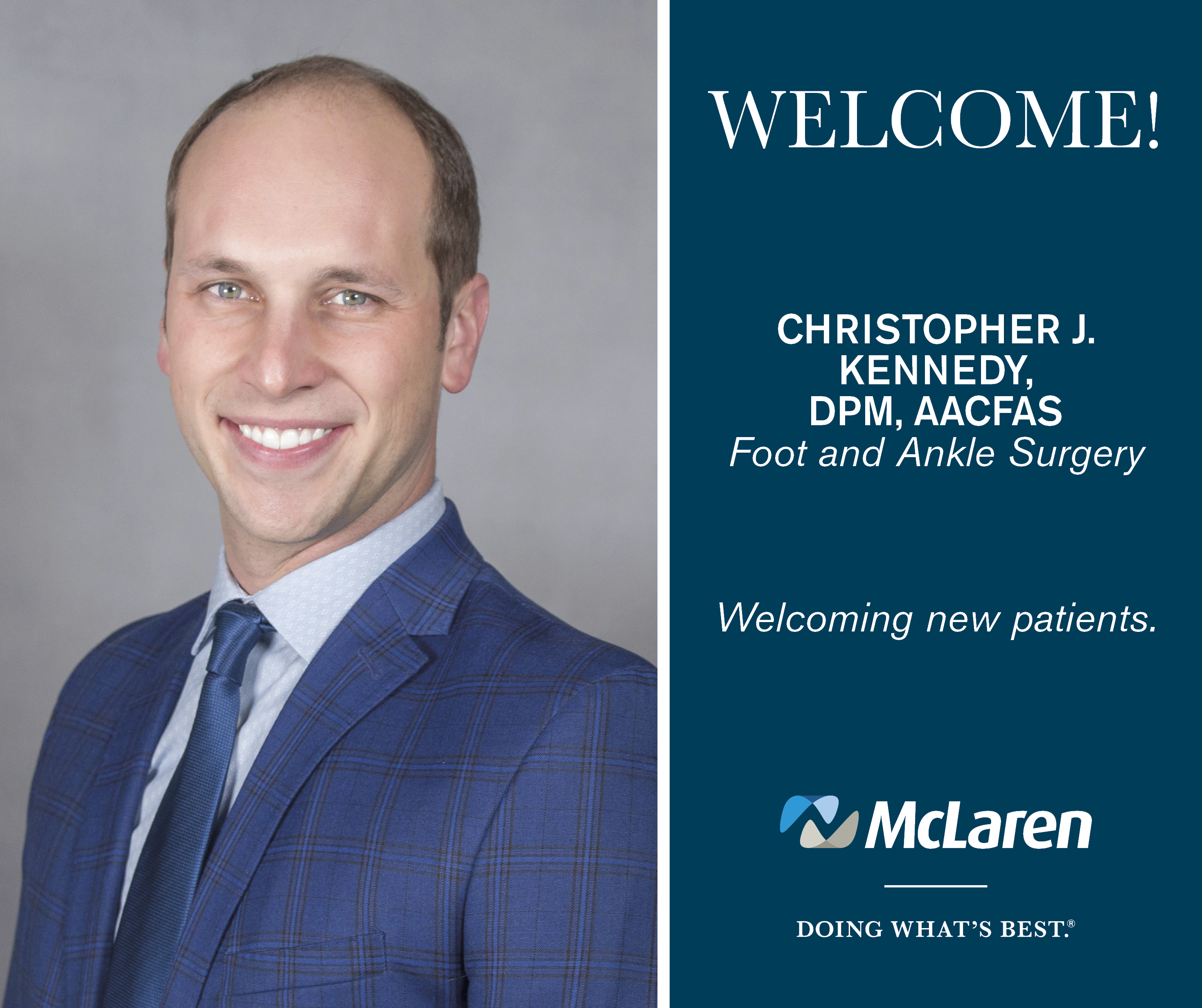 Podiatric Surgeon Joins New Orthopedic Clinic