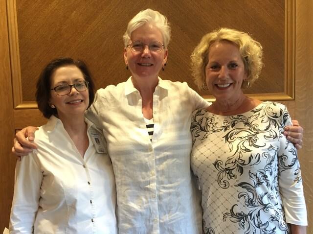 nurse and stroke survivors