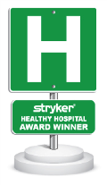 Stryker Healthy Hospital Gold Award