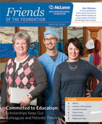 committed to education newsletter cover