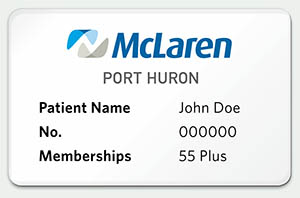 55 plus membership card