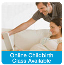 Online childbirth class available