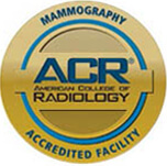 American College of Radiology Mammogram Accredited logo