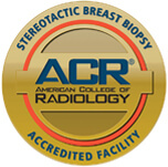 American College of Radiology Stereotactic Breast Biopsy logo