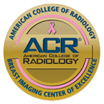 American College of Surgeons accredited Breast Imaging Center of Excellence