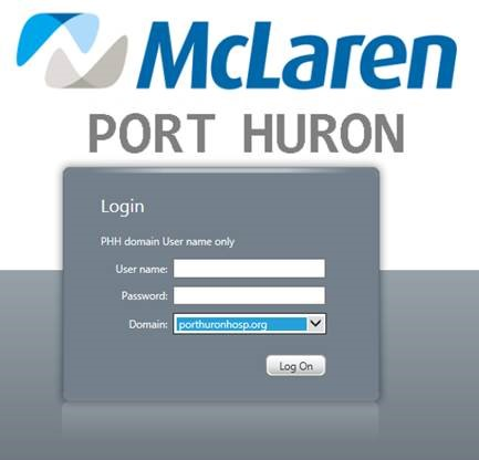 Mclaren Port Huron Hospital Physician Portal