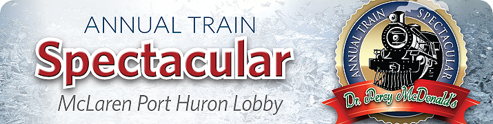 holiday train display begins December 15 - click to learn more