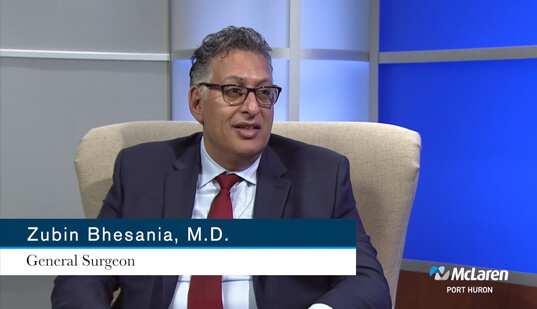 Zubin Bhesania, MD, Surgeon