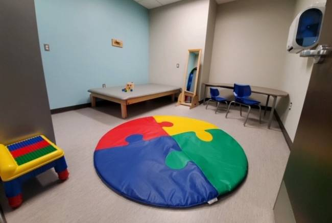 West Branch Rehab pediatric area