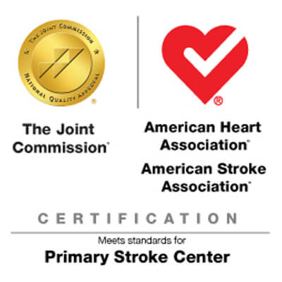 Awarded Advanced Certification for Primary Stroke Centers