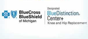 McLaren Macomb designated by the Blue Cross Blue Shield Association (BCBS) as a Blue Distinction Center+ for Knee and Hip Replacement.