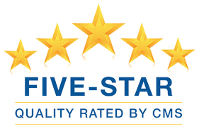 5 star rating from CMS