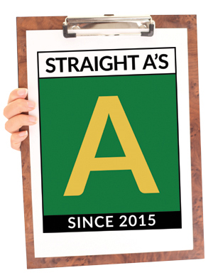 straight a